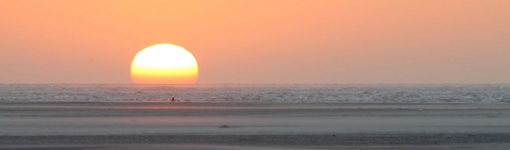 Sunset at Texel