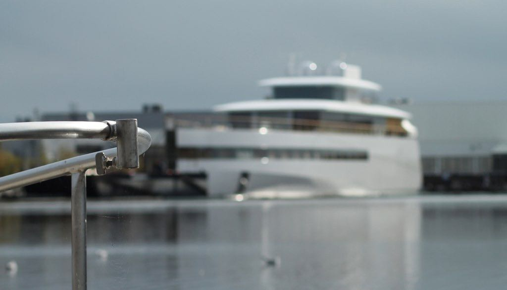 Superyacht Venus, owner: (late) Steve Jobs.