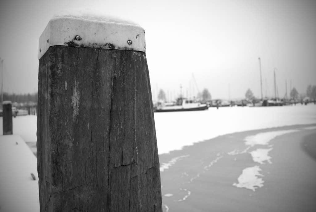 Winter in Jachthaven Strand Horst