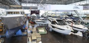 Boot Dusseldorf 2016 in opbouw