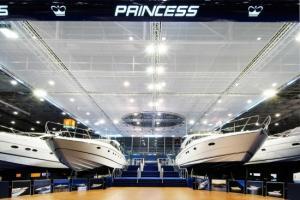 Princess yachts at Boot Duesseldorf