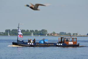 Vuilwaterboot in Friesland