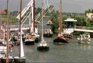 Drukte op het water in Nederland
