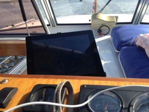iPad in gebruik als Waterkaart