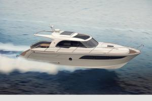 Marex 375 op snelheid