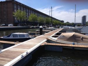 Port Entrepot centrumhaven te Amsterdam