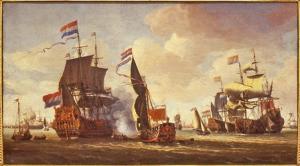 Zeeslag met de Zeven Provincien